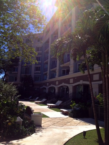 Sandals Royal Bahamian Balmoral Tower Zen Garden walkout1