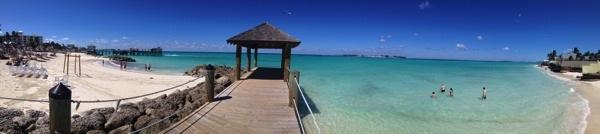 Sandals Royal Bahamian blue water