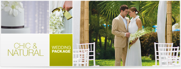 Chic and Natural Destination Wedding Package