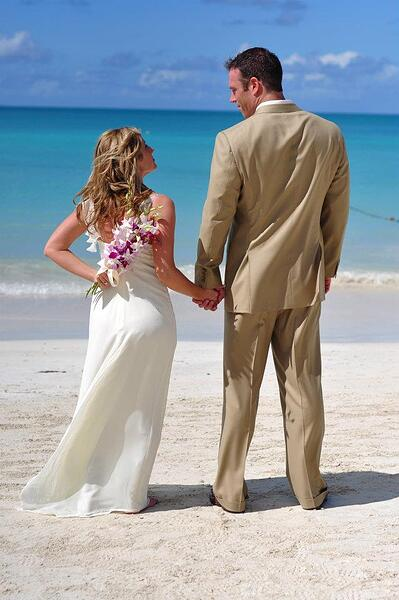 Destination Wedding Sandals Grande Antigua