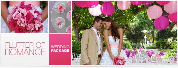 Flutter of Romance Destination Wedding Package