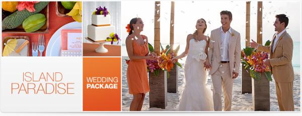 Island Paradise Destination Wedding Package