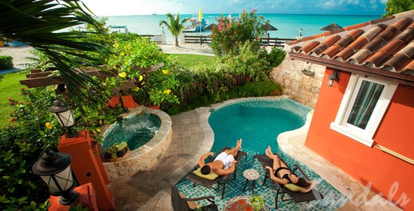 Sandals Grande Antigua Honeymoon Suite
