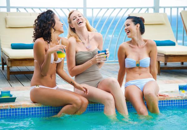 All inclusive Caribbean girls getaway