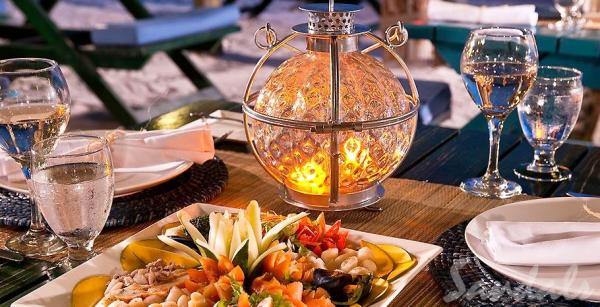 Sandals Resorts romantic dinner