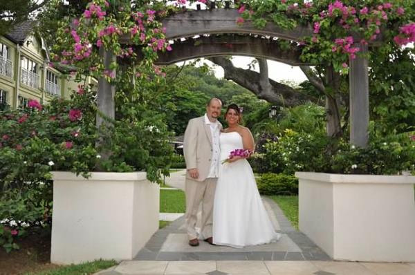 St Lucia beach wedding