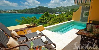 St Lucia Sunset Bluff Honeymoon Suite1 resized 600