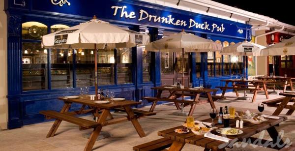 Sandals Resorts Drunken Duck Pub resized 600