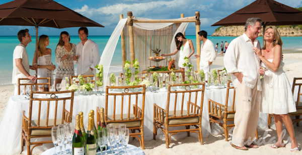 beach renewal of vows