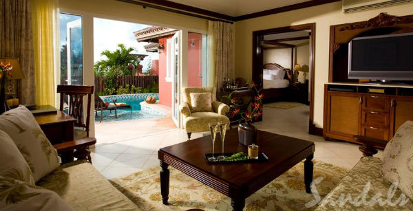 honeymoon suite sandals grande antigua