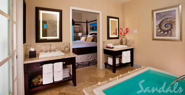 honeymoon suite sandals grande riviera