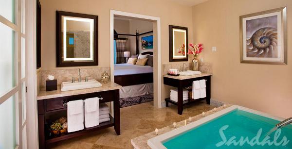 honeymoon suite sandals grande riviera