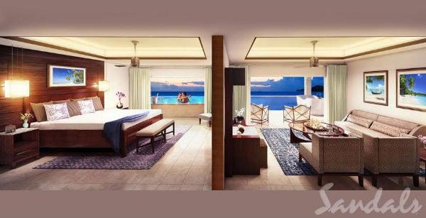 honeymoon suite sandals lasource grenada