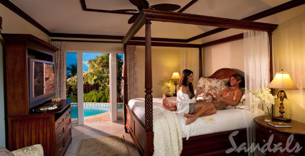 Honeymoon Suite Sandals Grande Antigua