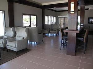 Sandals Arrival Lounge St Lucia