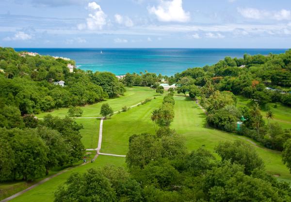 Sandals La Toc St Lucia golf course