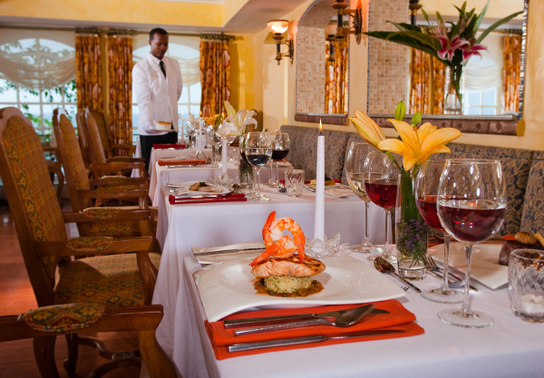 Sandals La Toc St Lucia fine dining resized 600