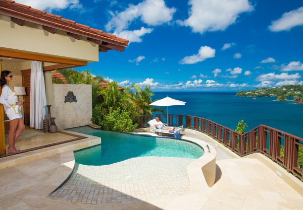 Sandals La Toc St Lucia suite with private pool resized 600