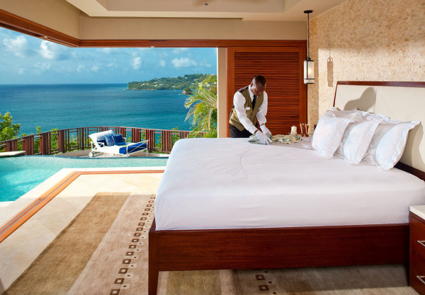 Sandals La Toc St Lucia honeymoon suite private pool resized 600